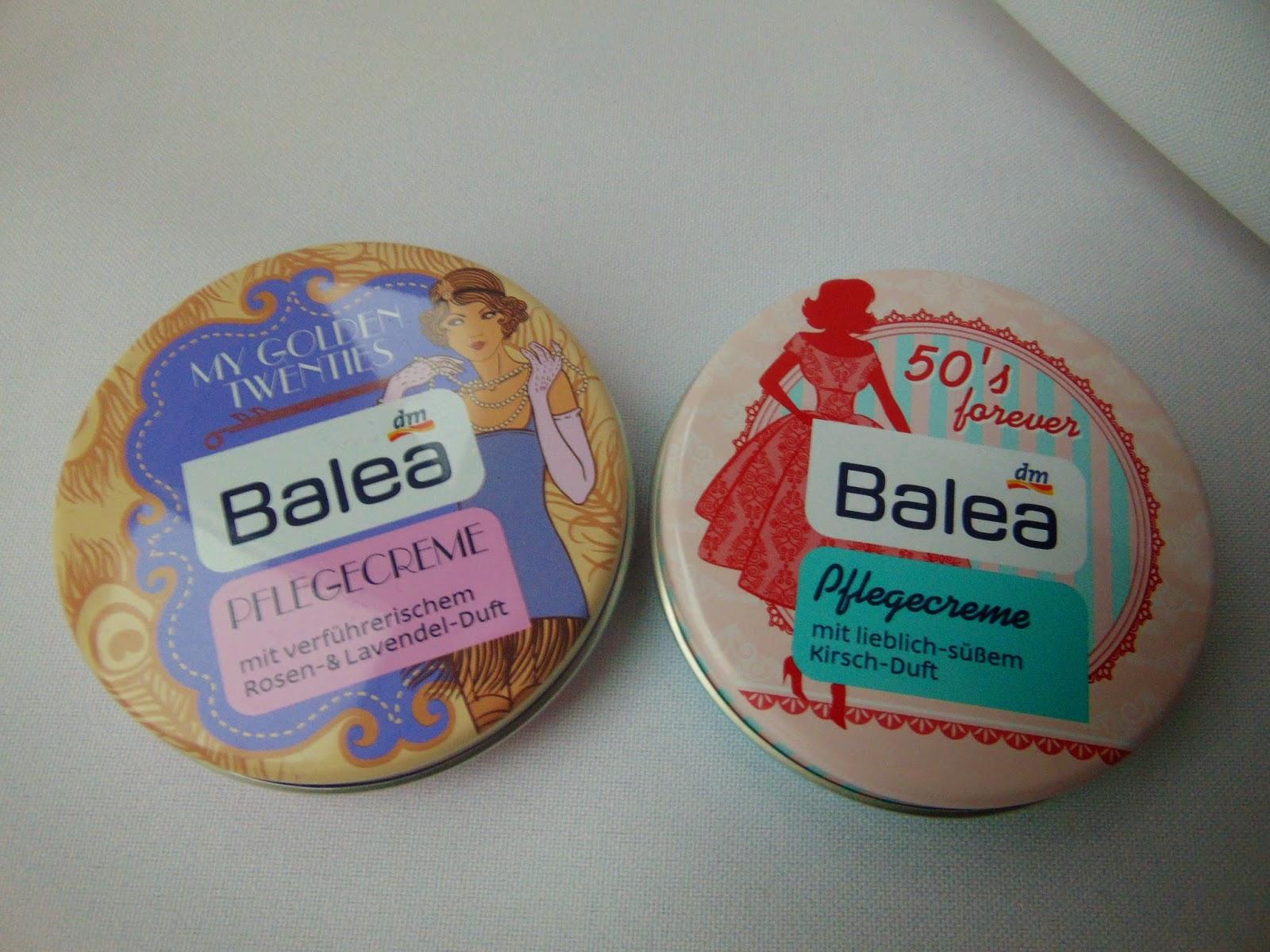 Balea Pflegecremes - www.annitschkasblog.de
