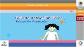 GUÍA DE ACTIVICACIÓN FÍSICA PREESCOLAR