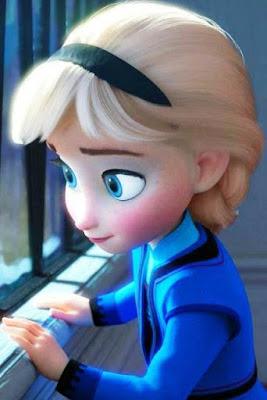 Foto Gambar Elsa Frozen Kecil Terbaru