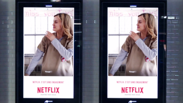 Netflix advertising campaign