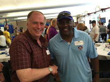 Bills Star Thurman Thomas and I Meet