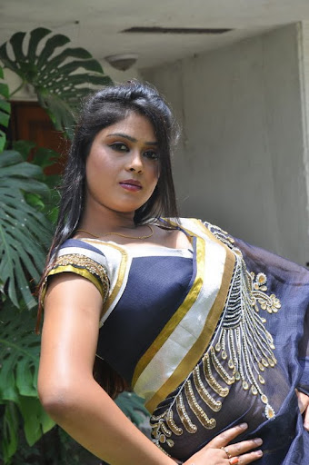 Model Deepa New Saree Actress Pics