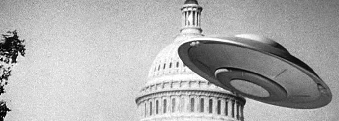 Still from <i>Earth vs. Flying Saucers</i>