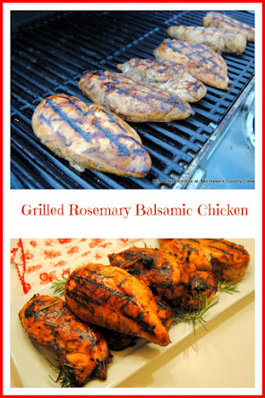 Grilled Rosemary Balsamic Chicken