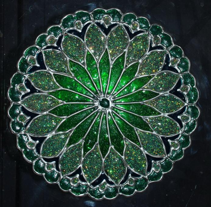 Zöld Mandala