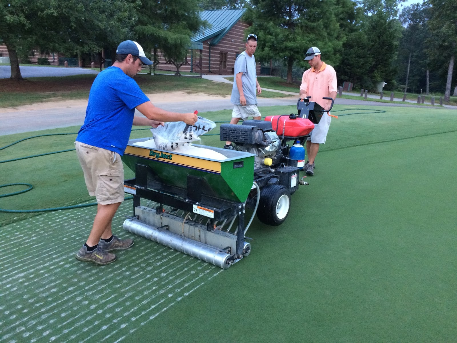 DryJect  Sand Injection Aerification