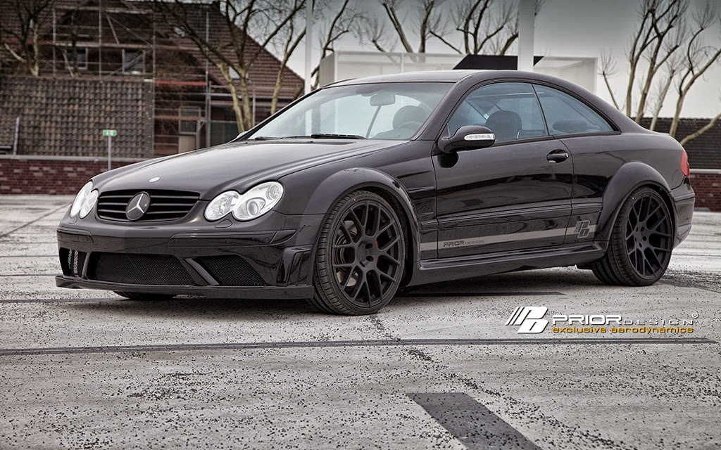 Mercedes benz w209 clk prior design widebody benztuning for 2010 mercedes benz clk350