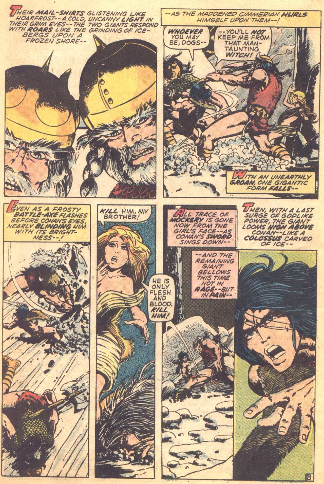 Conan the Barbarian (1970) Issue #16 #28 - English 8