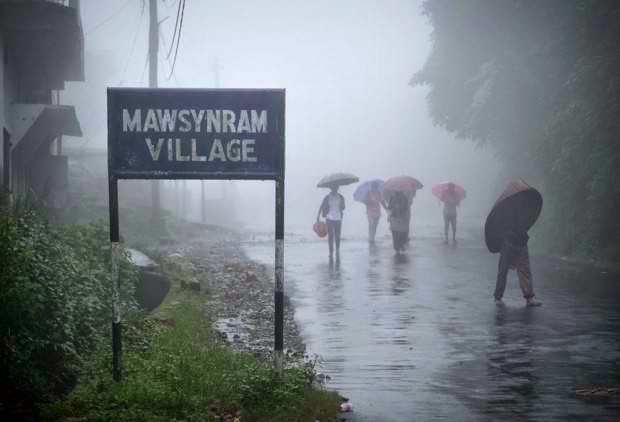 Wettest Place on Earth - Mawsynram, India