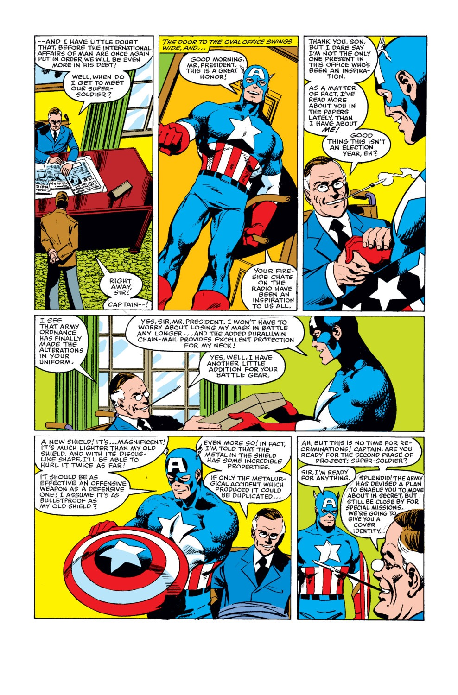 Captain America (1968) Issue #255 #170 - English 19
