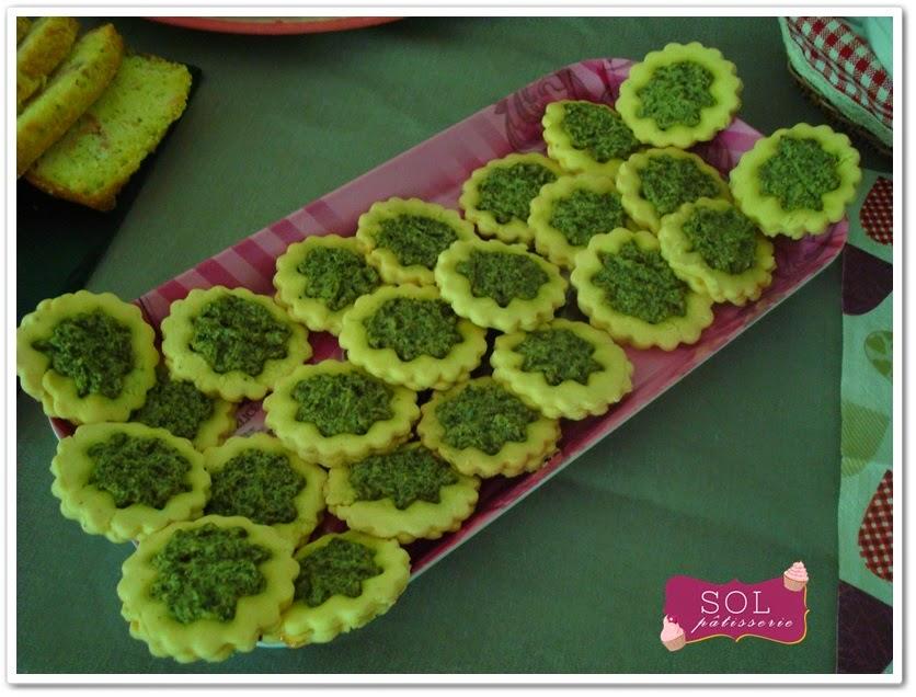 Cake au saumon - Cake de salmão