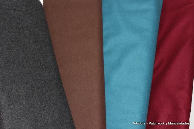 Colección de lanas para Patchwork - Vilabors