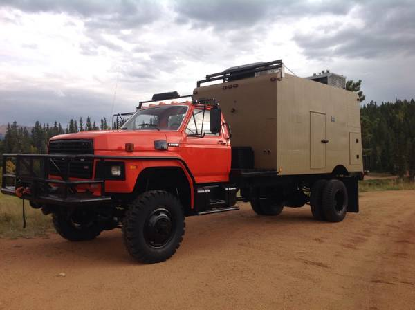 Ford F700 4x4 For Sale