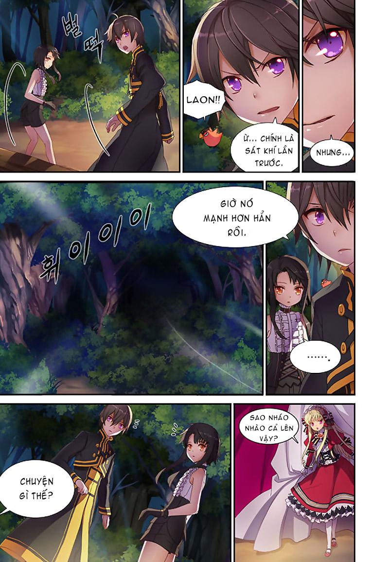 TruyenHay.Com - Ảnh 8 - Sword Girls (full color) Chap 4