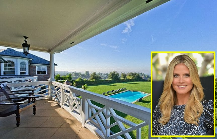 Heidi Klum puts her Los Angeles Mansion for‭ ‬$‭ ‬9.8‭ ‬million into Market‭
