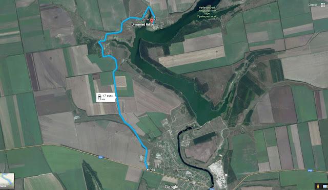 Дорога от трассы к Пелагеевке.