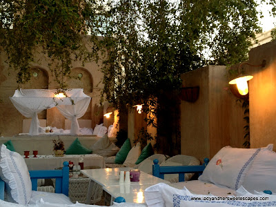 Inside Arabian Tea House, Old Dubai