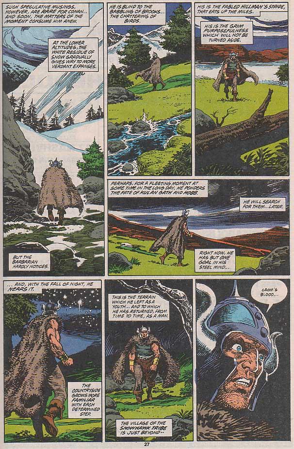 Conan the Barbarian (1970) Issue #258 #270 - English 21
