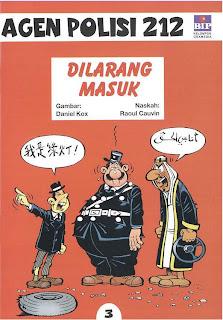 eBook Komik Agen Polisi 212 - Dilarang Masuk