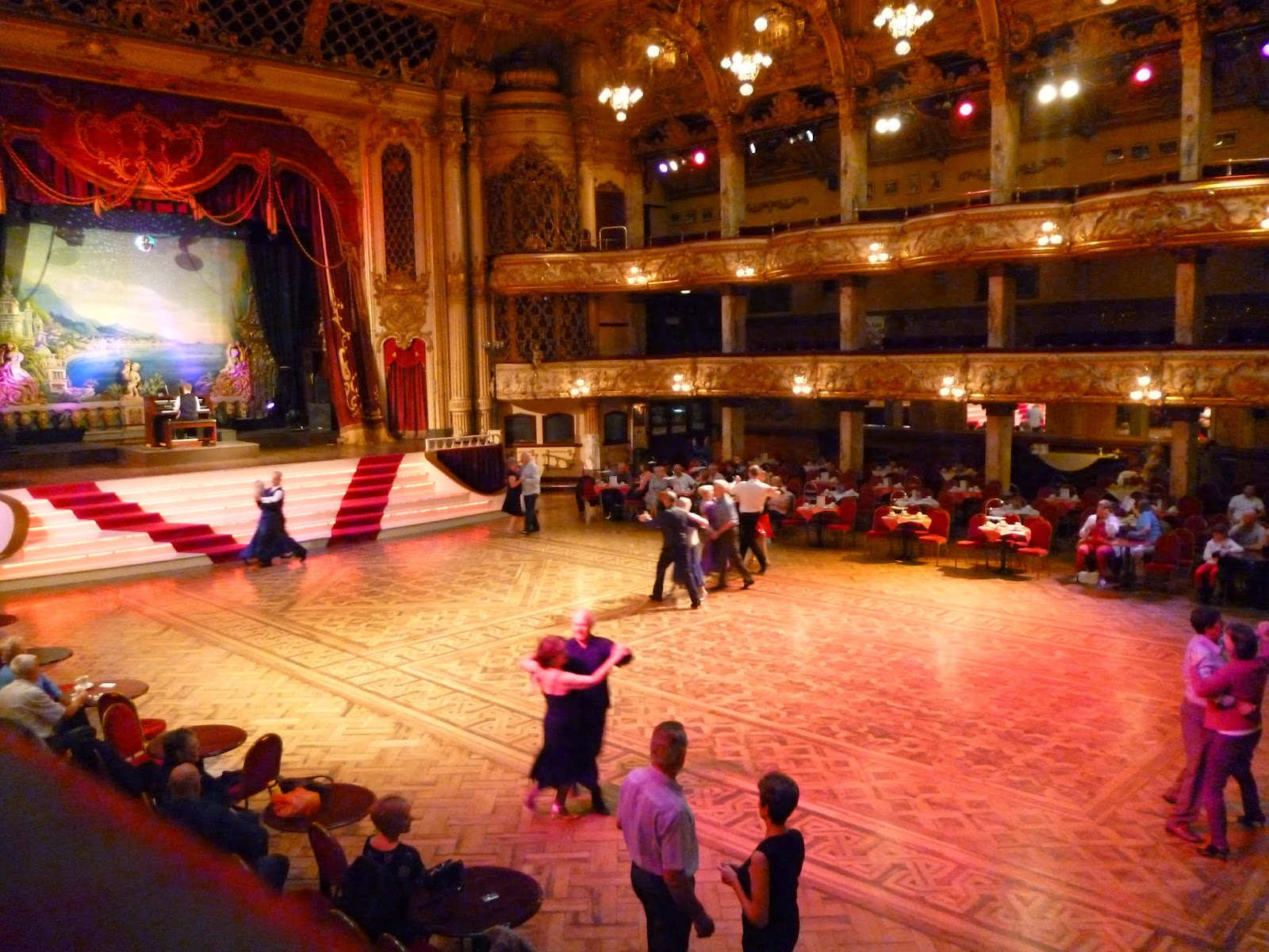 Strictly Come Dancing Blackpool Tower Ballroom