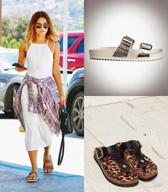 Peças moda tendencia verão 2015 sandálias Birkenstock HM Berska