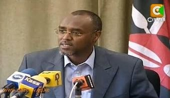 FORMER MANDERA EAST MP- QARAS