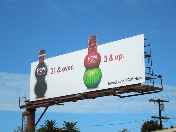 Pom 21 & over Pom Hula 3 & Up billboard