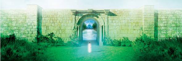 colonia espiritual nosso lar, entrada e portal de nosso lar, andre luiz