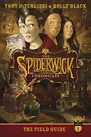 the spiderwick chronicles: the field guide by holly black and tony diterlizzi book cover