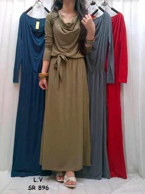Maxi Dress Sabrina Kode : SR-896
