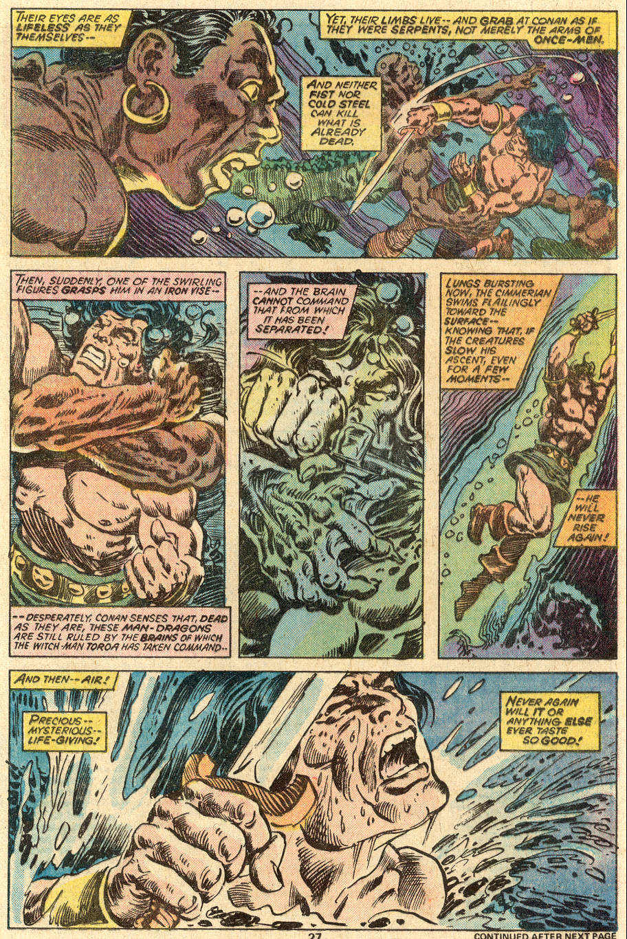 Conan the Barbarian (1970) Issue #83 #95 - English 18