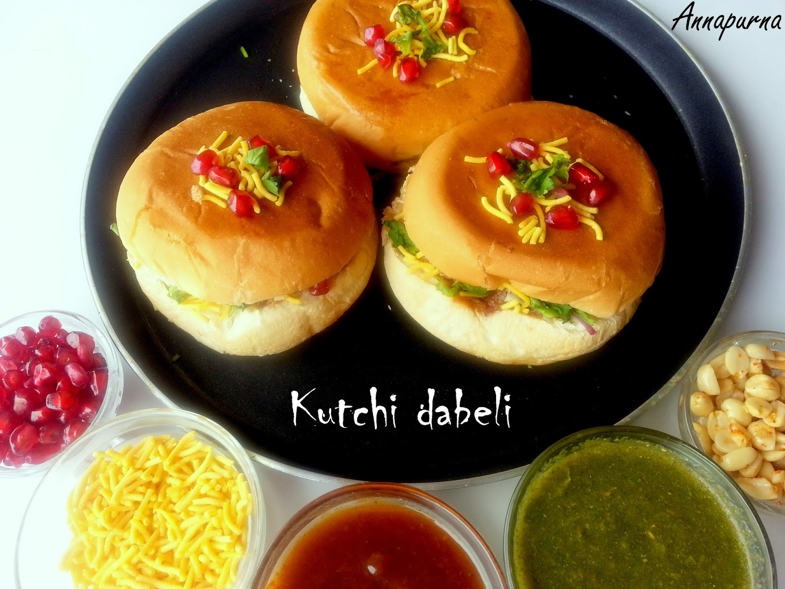 Annapurna kutchi dabeli indian street food for Annapurna indian cuisine