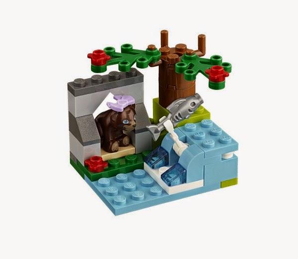 TOYS - LEGO Friends - 41046 El Río de la Osita Parda Juguete Oficial | A partir de 5 años