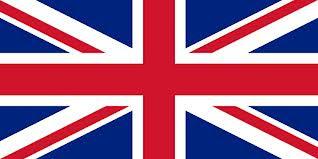 Bandera de Reino Unido y partituras musicales del Himno. Himno Nacional del Reino Unido Partitura para Flauta, Violín, Saxofón Alto, Trompeta, Viola, Oboe, Clarinete, Saxo Tenor, Soprano, Trombón, Fliscorno, Violonchelo, Fagot, Barítono, Bombardino, Trompa, Tuba Elicón y Corno Inglés  God Save the Queen Partitura Sheets Music