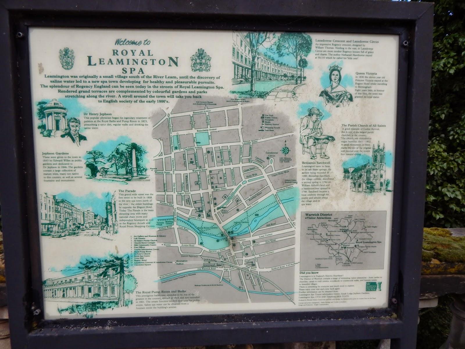 Royal Leamington Spa, zwiedzanie
