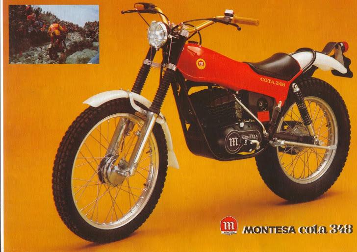 MONTESA COTA 348 Malcom Rathmell 1976-1979