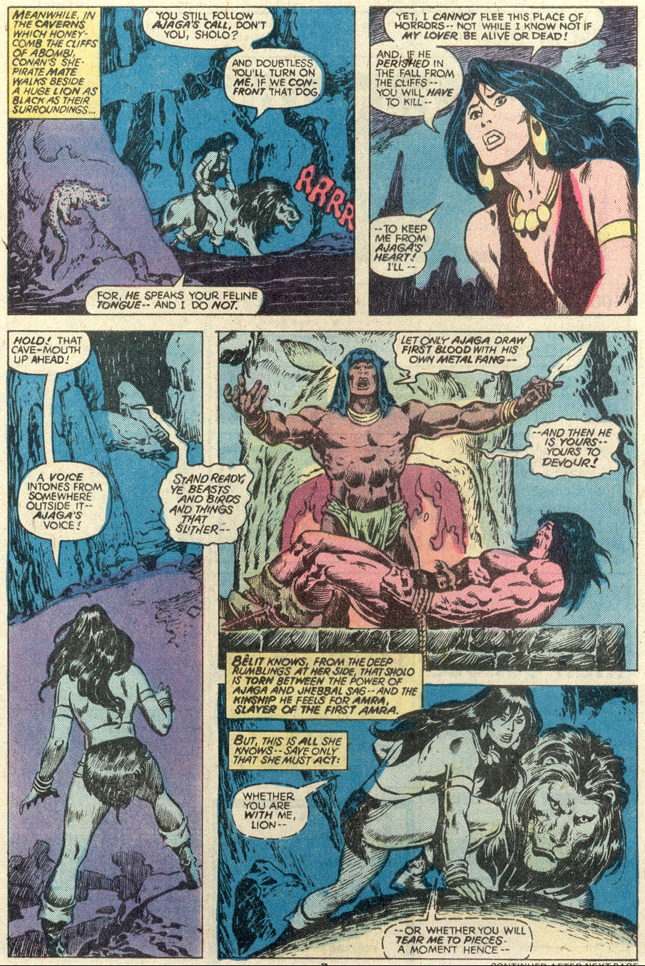 Conan the Barbarian (1970) Issue #97 #109 - English 6