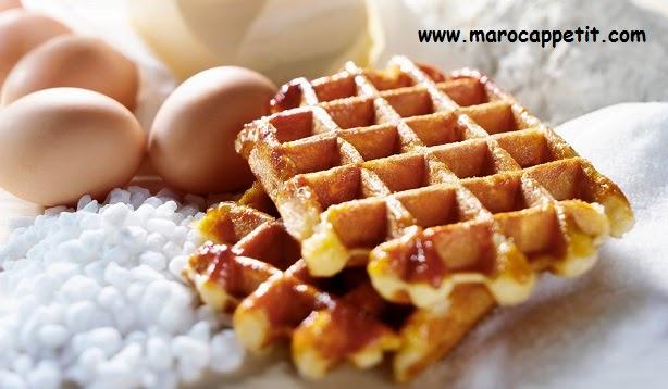 Recette gaufres rapides | Waffles quick recipe