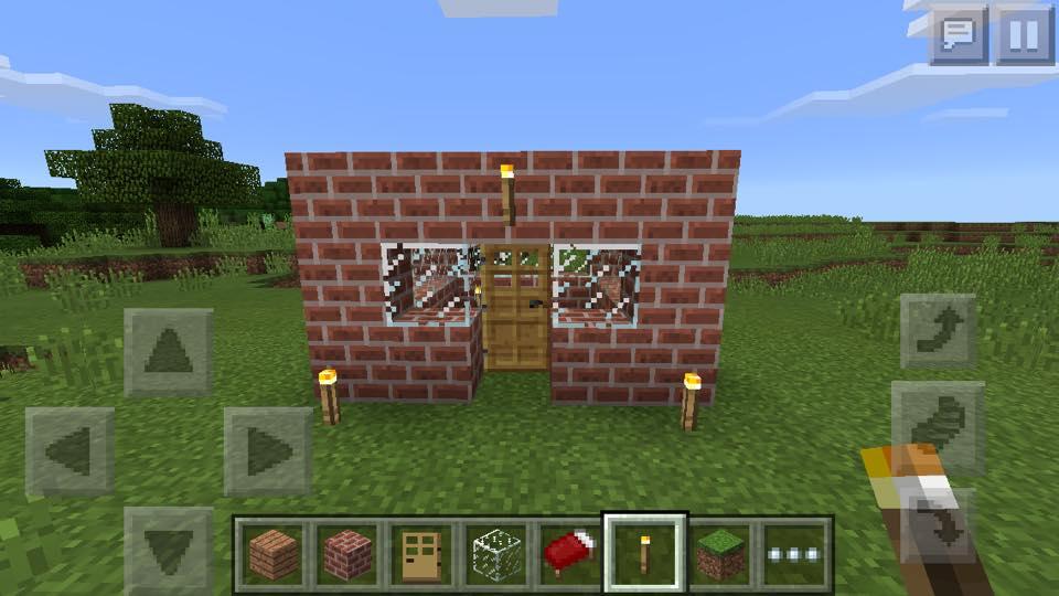 Minecraft voor moeders een huis bouwen in creative mode for Huis maken minecraft