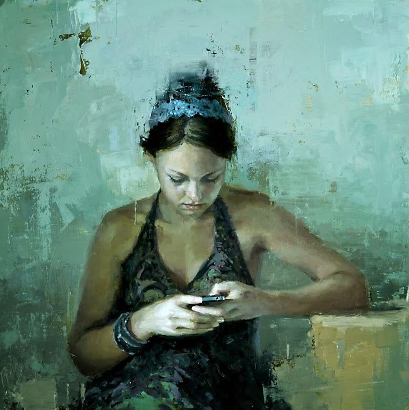 Jeremy Mann Jeremy+Mann+1979+-+American+Impressionist+painter+-Maher+Art+Gallery20