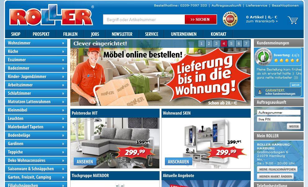 der größte Möbeldiscounter in Deutschland  ERDBEERCHENS TESTWELT