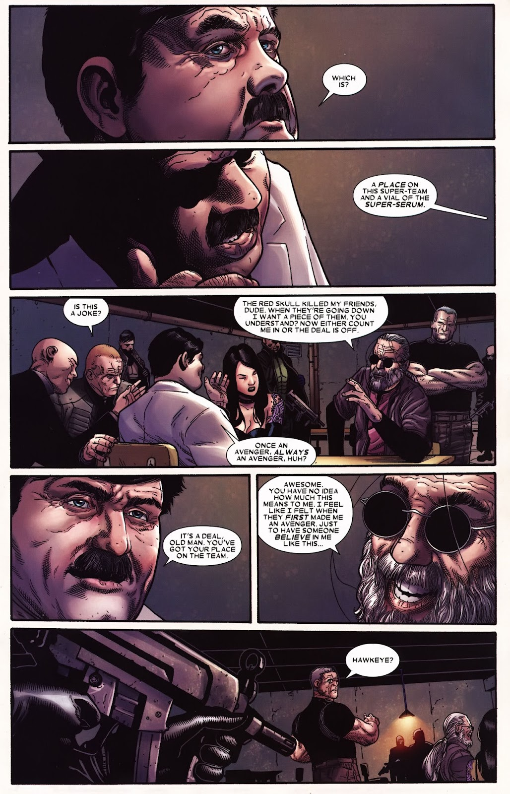 Read online Wolverine (2003) comic -  Issue #71 - 19