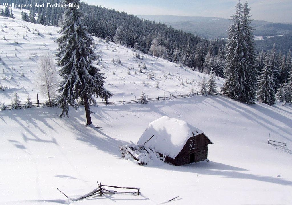 Top Beautiful Winter Snow Wallpapers Around The World ...