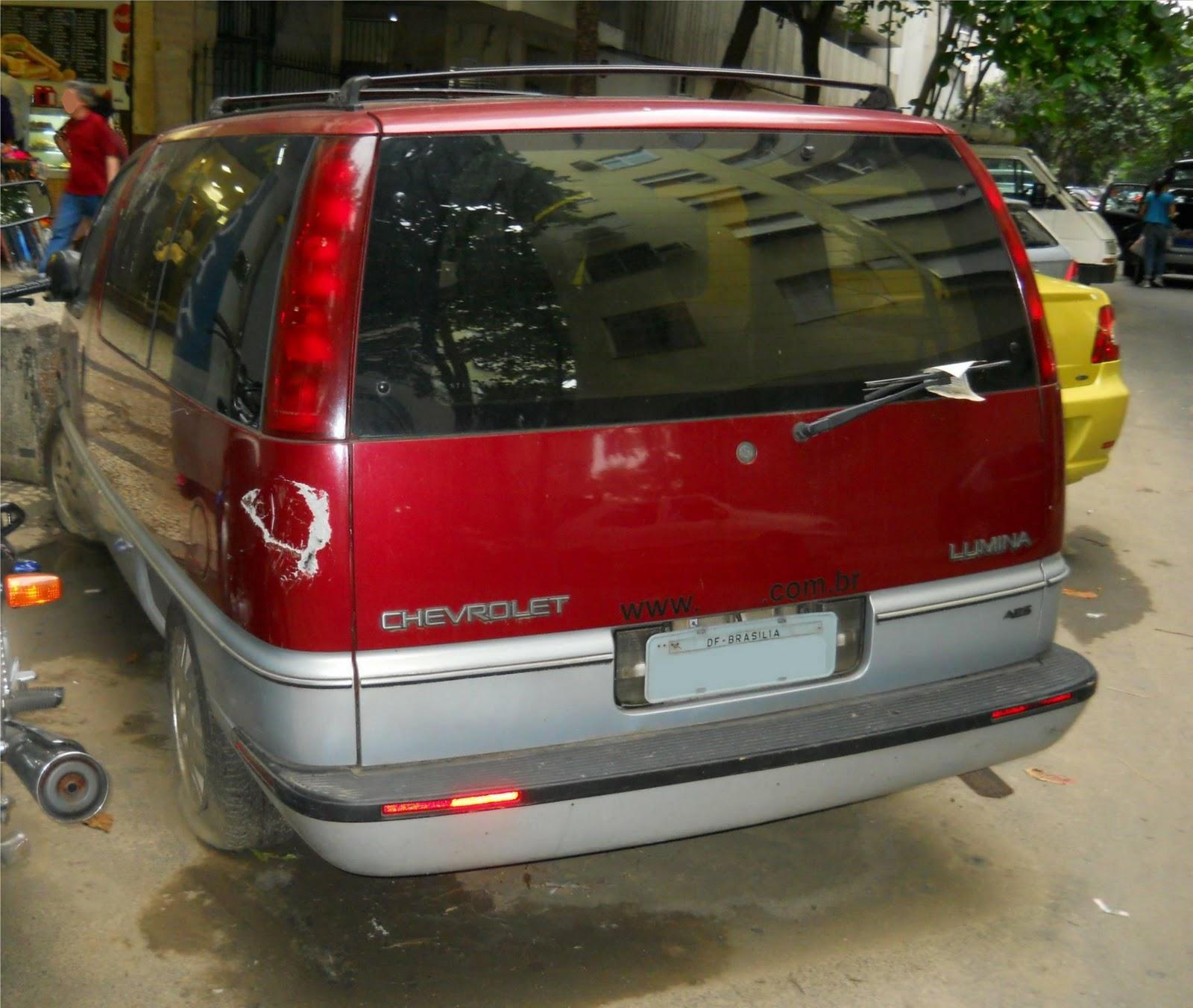 Registros Automotivos Do Cotidiano: Chevrolet Lumina APV
