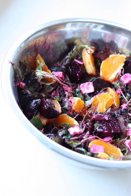 ... roasted beet and red onion salad roasted beet and red onion salad