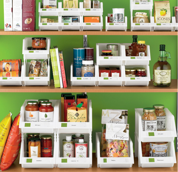 Dollar Store Kitchen Organization: Frugal NYC Girl: More Dollar Store Organizing