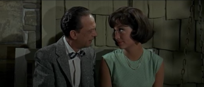 Don Knotts and Joan Stanley