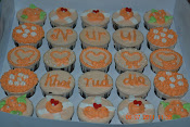 25 pcs cupcake with box RM 58
