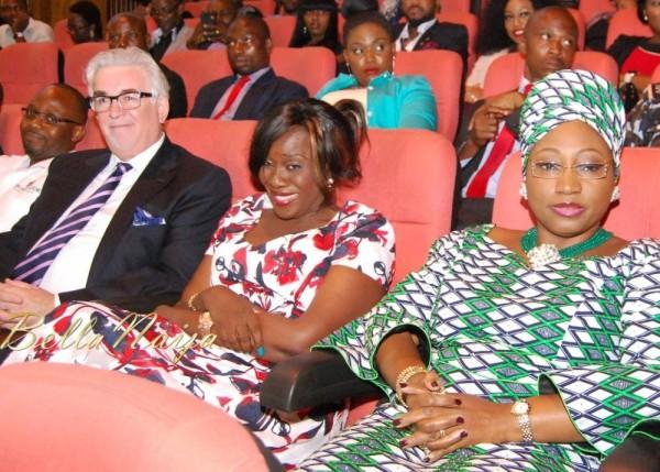 Keith Richard, Joke SIlva & Bisi Fayemi