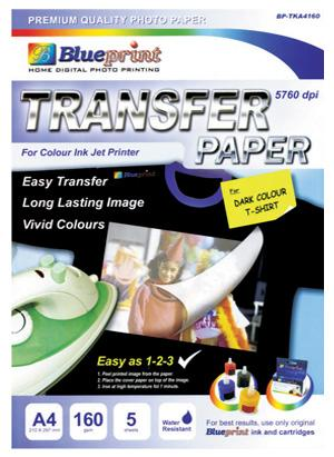 kertas transfer paper dark A3
